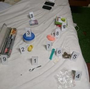 Penci kábítószer-kereskedő rendőrkézen