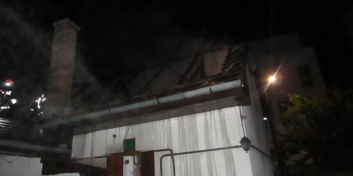 Tűz volt Vácott a Rózsa utcában